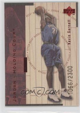 1998-99 Upper Deck Hardcourt Jordan - Holding Court Red #J16 - Kevin Garnett /2300