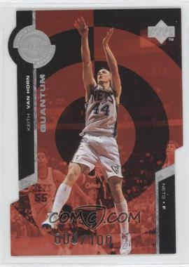 1998-99 Upper Deck Super Powers Silver Quantum Die-Cut #PS17 - Keith Van Horn /100