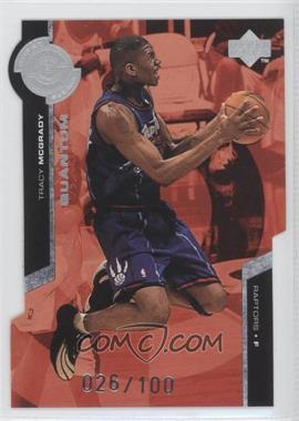 1998-99 Upper Deck Super Powers Silver Quantum Die-Cut #PS26 - Tracy McGrady /100