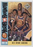 All-Star Lakers (Kobe Bryant, Nick Van Exel, Eddie Jones, Shaquille O'Neal)