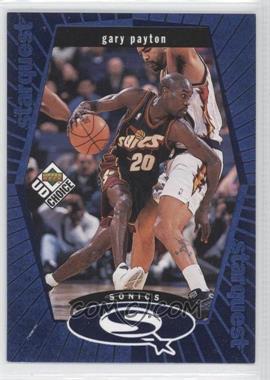 1998-99 Upper Deck UD Choice Starquest Blue #SQ25 - Gary Payton