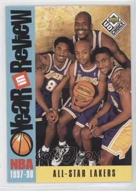 1998-99 Upper Deck UD Choice #197 - Los Angeles Lakers Team (Kobe Bryant, Nick Van Exel, Eddie Jones, Shaquille O'Neal)