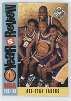 Los Angeles Lakers Team (Kobe Bryant, Nick Van Exel, Eddie Jones, Shaquille O'N…