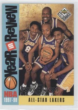 1998-99 Upper Deck UD Choice #197 - Los Angeles Lakers Team