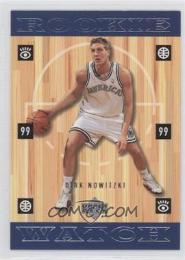 1998-99 Upper Deck #320 - Dirk Nowitzki