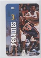 Penalties - Foul (Patrick Ewing, David Robinson)