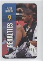 Penalties - Player Fouls Out (Tim Duncan)