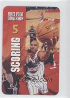 Scoring - Three Point Conversion (Charles Barkley)