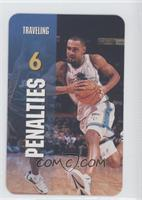 Penalties - Traveling (Grant Hill)