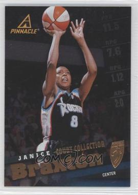 1998 Pinnacle WNBA - [Base] - Court Collection #28 - Janice Braxton