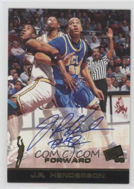 1998 Press Pass - Autographs #JRHE - J.R. Henderson
