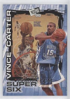 1998 Press Pass - Super Six #S4 - Vince Carter