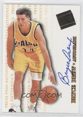 1998 Press Pass Authentics Autographs #BRDR - Bryce Drew