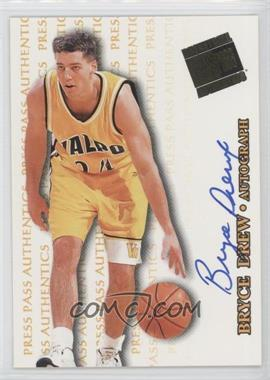 1998 Press Pass Authentics Autographs #BRDR - Bryce Drew