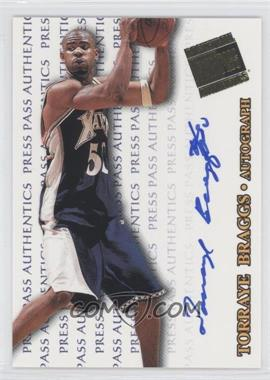 1998 Press Pass Authentics Autographs #TOBR - Torraye Braggs
