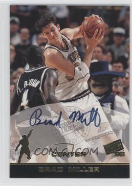 1998 Press Pass Autographs #BRMI - Brad Miller