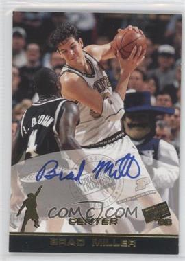 1998 Press Pass Autographs #N/A - Brad Miller