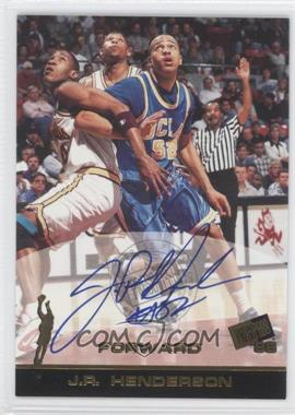 1998 Press Pass Autographs #N/A - J.R. Henderson