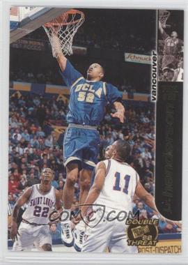 1998 Press Pass Double Threat - [Base] #33 - J.R. Henderson