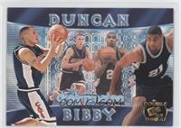 Tim Duncan, Mike Bibby