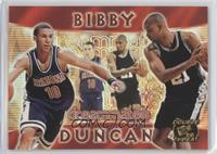 Mike Bibby, Tim Duncan