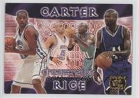 Vince Carter, Glen Rice