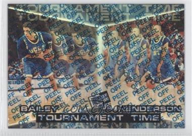 1998 Press Pass Reflectors #R44 - J.R. Henderson, Tony Battie, Toby Bailey