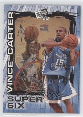 1998 Press Pass Super Six #S4 - Vince Carter