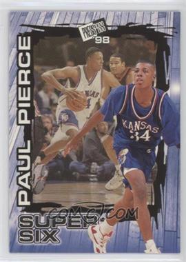 1998 Press Pass Super Six #S5 - Paul Pierce