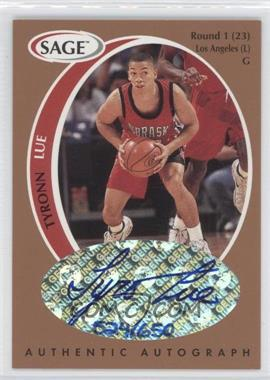 1998 SAGE Authentic Autograph Bronze #A26 - Tyronn Lue /650