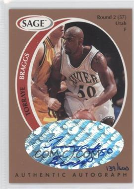 1998 SAGE Authentic Autograph Bronze #A4 - Torraye Braggs /600