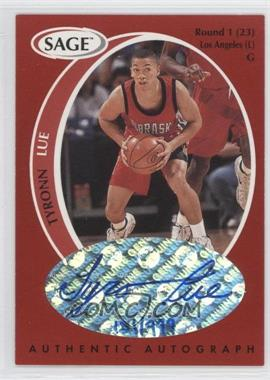 1998 SAGE Authentic Autograph #A26 - Tyronn Lue /999