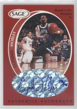 1998 SAGE Authentic Autograph #A33 - Cuttino Mobley /999