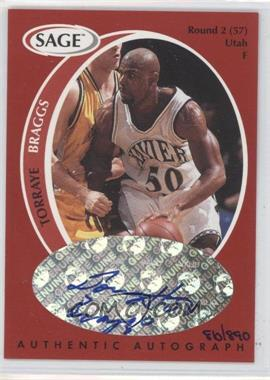 1998 SAGE Authentic Autograph #A4 - [Missing] /890