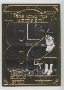 1998 Upper Deck Collectibles Michael Jordan 22K Career Highlights #1 - Michael Jordan /23000