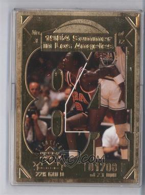 1998 Upper Deck Collectibles Michael Jordan 22K #3 - Michael Jordan /23000
