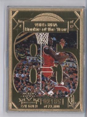 1998 Upper Deck Collectibles Michael Jordan 22K #4 - Michael Jordan /23000