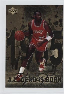 1998 Upper Deck Gatorade Michael Jordan - [Base] #1 - A Legend is Born (1985)