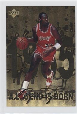 1998 Upper Deck Gatorade Michael Jordan - [Base] #1 - A Legend is Born (1985)