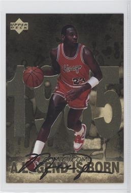 1998 Upper Deck Gatorade Michael Jordan #1 - A Legend is Born (1985)