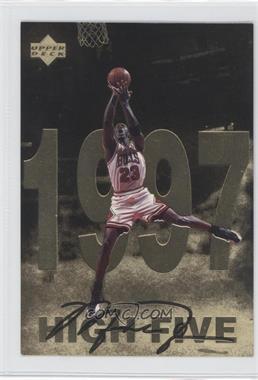 1998 Upper Deck Gatorade Michael Jordan #12 - High Five (1997)