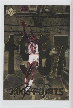 1998 Upper Deck Gatorade Michael Jordan #3 - 3,000 Points (1987)