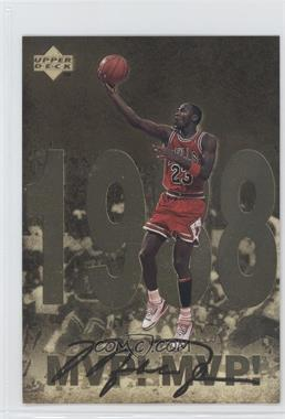 1998 Upper Deck Gatorade Michael Jordan #4 - MVP! MVP! (1998)