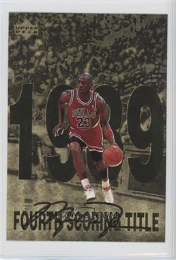 1998 Upper Deck Gatorade Michael Jordan #5 - Fourth Scoring Title (1989)