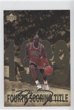1998 Upper Deck Gatorade Michael Jordan #5 - Fourth Scoring Title (1989)