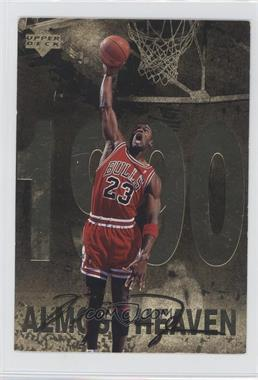 1998 Upper Deck Gatorade Michael Jordan #6 - Almost Heaven (1990)