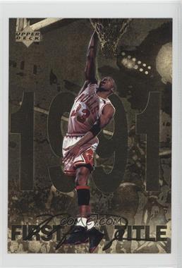 1998 Upper Deck Gatorade Michael Jordan #7 - First A Title (1991)