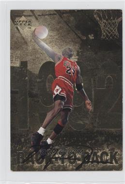 1998 Upper Deck Gatorade Michael Jordan #8 - Back-To-Back (1992)