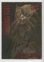 Michael Jordan (Red Foil, Black Signature) /4523