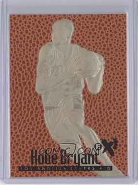 1999-00 23KT Gold Card Fleer Reprints 1997-98 EX 2000 #KOBR.5 - Kobe Bryant (Ball Texture/Color Background)